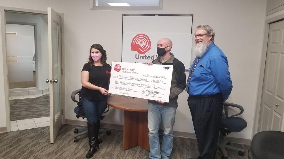 UW Cheque Presentation